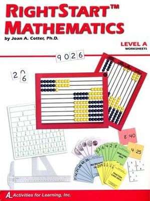 Rightstart Mathematics Level A Worksheets, 1st Edition   -