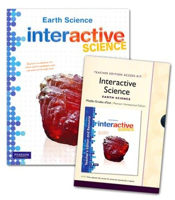 Interactive Science: Earth Science (Grade 6) Homeschool Bundle  -