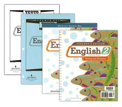 BJU English Grade 2 Homeschool Kit   -