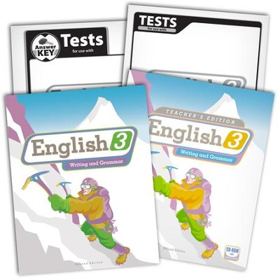 BJU English Grade 3 Homeschool Kit   -