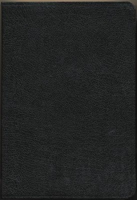 KJV Zondervan Study Bible, Bonded leather, Black, Thumb-indexed   -     By: Bible