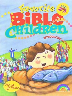 Favorite Bible Children, Ages 2-3   -
