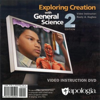 Exploring Creation with General Science 2nd Edition DVD   -     By: Rusty Hughes