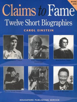 Claims to Fame, Book 1   -     By: Carol Einstein