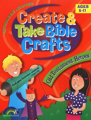 Create & Take Bible Crafts: Old Testament Heroes   -
