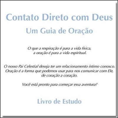 Contato Directo com Dues Estudo - PDF Download  [Download] -     By: Stonecroft Ministries