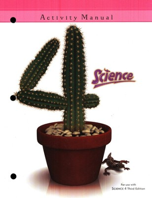 BJU Science Student Activities Manual Grade 4, Third Edition   -