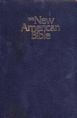 NABRE Gift & Award Bible--Imitation Leather, Blue   -
