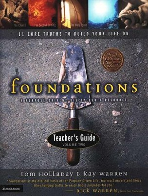 Foundations Teacher's Guide, Volume 2   -     By: Kay Warren, Tom Holladay