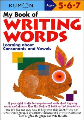 Kumon My Book of Writing Words, Ages 5-7    -