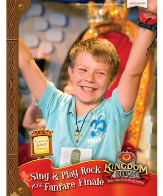 Downloadable Sing & Play Rock and Fanfare Finale Leader Manual - PDF Download  [Download] -