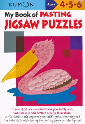 My Book of Pasting: Jigsaw Puzzles  -