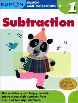 Kumon Subtraction, Grade 1    -