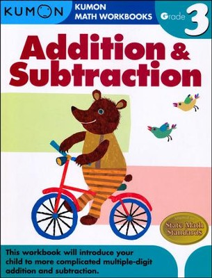 Kumon Addition & Subtraction, Grade 3    -