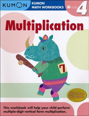 Kumon Multiplication, Grade 4    -