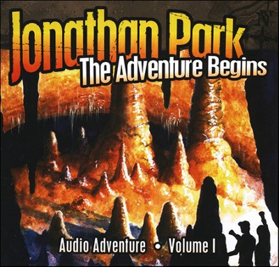 Jonathan Park Volume 1: The Adventure Begins, Audio CD   -