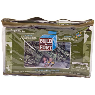 Green Camouflage Build-A-Fort   -