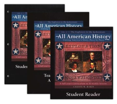 The Explorers to the Jacksonians, Volume 1: All American History  -     By: Celeste W. Rakes