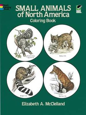 Small Animals of North America Coloring Book  -     By: Elizabeth McClelland