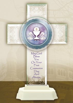 Pedestal Cross, Communion  -