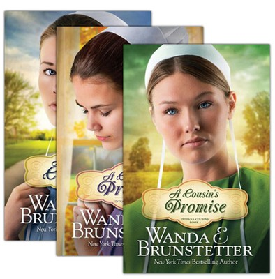 Indiana Cousins Series, Vols 1-3 (rpkgd)   -     By: Wanda E. Brunstetter
