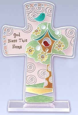 Bless This Home Cross  -