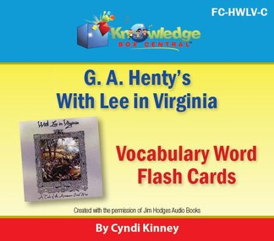 Henty's Historical Novel: With Lee in Virginia Vocabulary Flash Cards - PDF Download  [Download] -     By: Cyndi Kinney