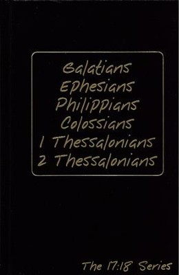 Journible, The 17:18 Series: Galatians - Colossians, 1 & 2 Thessalonians   -     By: Rob Wynalda