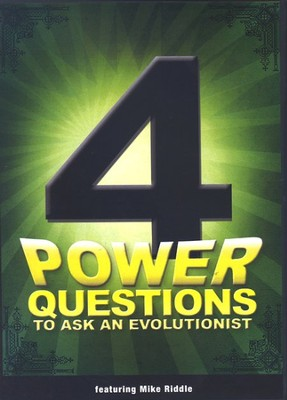 4 Power Questions to Ask an Evolutionist, DVD   -     By: Mike Riddle