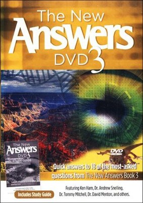 The New Answers DVD 3   -