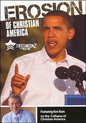 Erosion of Christian America: State of the Nation 2 with Ken Ham-DVD  -     By: Ken Ham