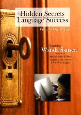 Hidden Secrets to Language Success 2 DVD Set   -     By: Wanda Sanseri
