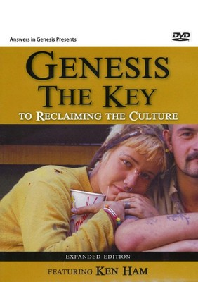 Genesis the Key to Reclaiming the Culture DVD Expanded Edition  -     By: Ken Ham