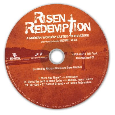 Risen Redemption (Split-Track Accompaniment CD)   -