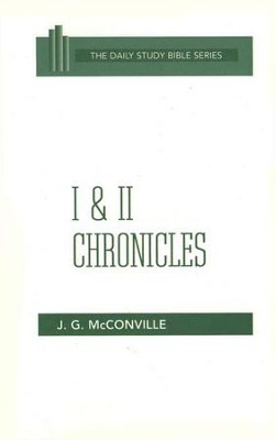 1 & 2 Chronicles: New Daily Study Bible [NDSB]   -     By: J.G. McConville