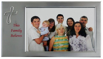 This Family Believes Photo Frame  -