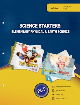 Science Starters: Elementary Physical & Earth Sciences Parent Lesson Plan - PDF Download  [Download] -