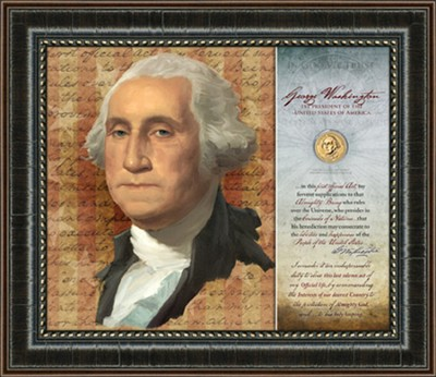 George Washington, First Official, Framed Art  -     By: Ken Corbett