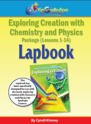 Exploring Creation w/ Chemistry and Physics Lapbook Lessons 8-14 - PDF Download  [Download] -     By: Cyndi Kinney