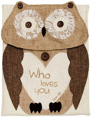 Who Loves You, Owl Tablet Holder  -     By: Robin Davis