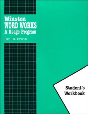 H.Winston Word Works, Workbook Only   -     By: Paul R. Erwin