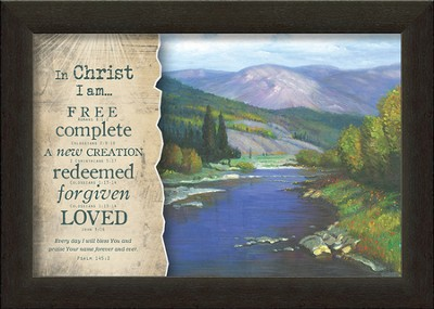 In Christ Framed Art  -