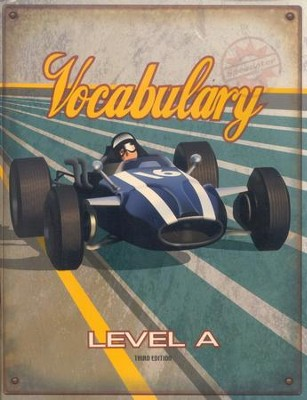 BJU Voabulary Student Worktext, Level A (Grade 7) Third Edition  -
