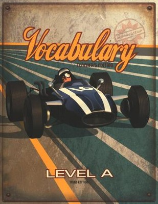 BJU Vocabulary Teacher's Edition, Level A (Grade 7),  Third Edition  -
