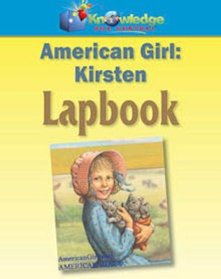 American Girls: Meet Kirsten Lapbook PDF CDROM  -     By: Cyndi Kinney, Shelby Kinney