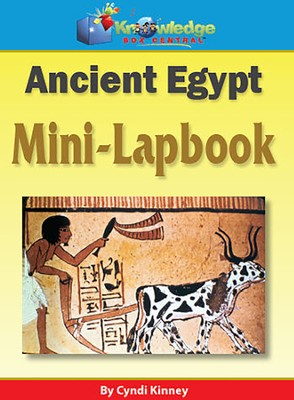 Ancient Egypt Mini-Lapbook  -     By: Cyndi Kinney