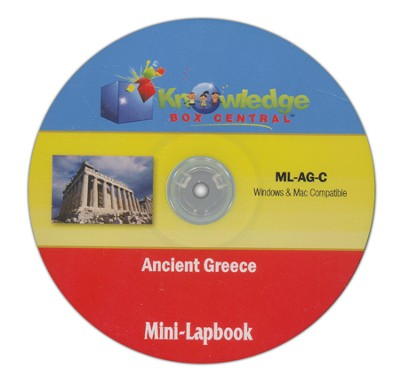 Ancient Greece Mini-Lapbook CDROM  -     By: Cyndi Kinney