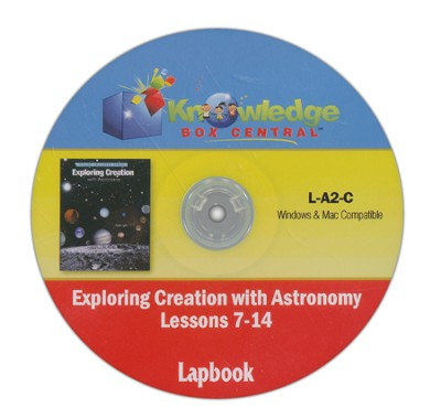 Exploring Creation with Astronomy Lessons 7-14 Lapbook CD-Rom  -