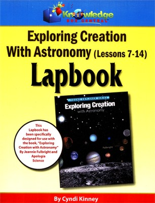 Exploring Creation with Astronomy Lessons 7-14 Lapbook   -