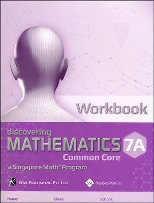Discovering Mathematics Workbook 7A (Common Core State Standards Edition)  -